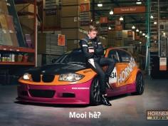 Hornbach stapt in autosport