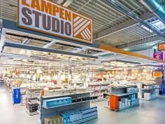 Nieuwe verlichtingsafdeling Hornbach Alblasserdam