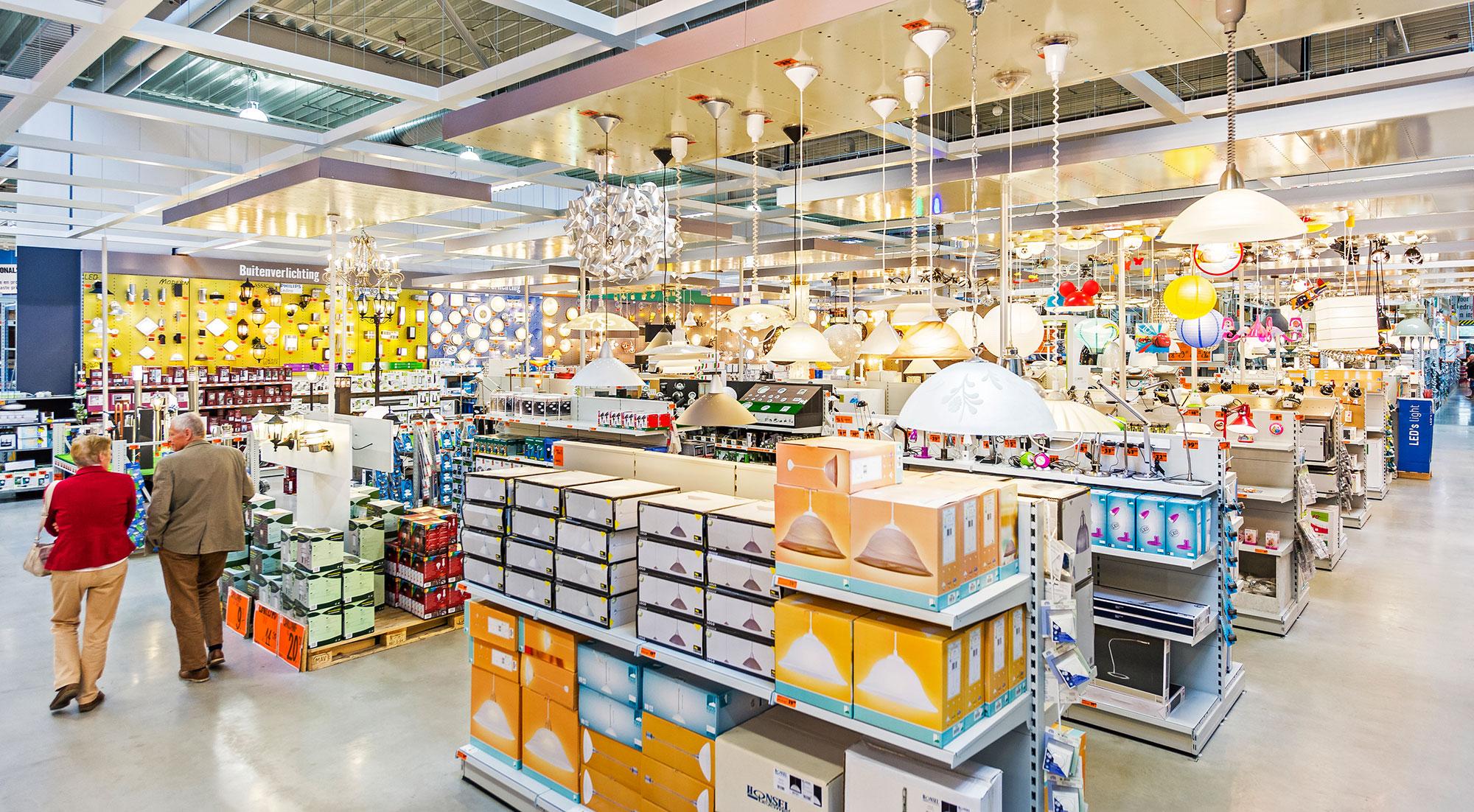 Hornbach Keukens Groningen : Nieuwe verlichtingsafdeling Hornbach Alblasserdam