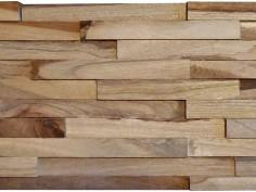 Nieuwe trend: moderne versie van houten wandbekleding