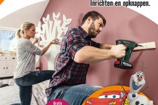Projectshow kinderkamer Hornbach