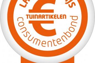 CB-Laagste prijs-Tuinartikelen-vlag_april 2016 Consumentenbond