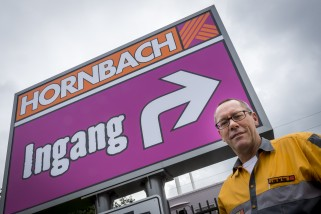 Hornbach Best - vestigingsmanager Jos van der Gun