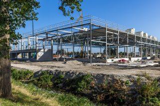 Den Haag - Nieuwbouw Hornbach Ypenburg.