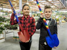 Kinderen ontwerpen eigen unieke schep