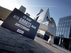 Er komt iets groots naar Amsterdam