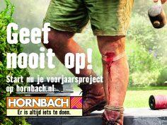 Hornbach lanceert voorjaarscampagne 2017