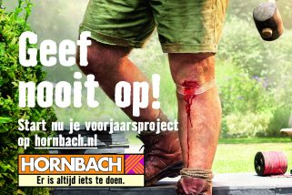 Afbeelding voorjaarscampagne Hornbach