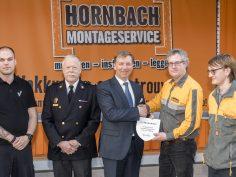 Hornbach Nieuwerkerk aan den IJssel sluit zich aan bij brandweer