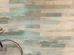 Wandbekleding van echt hout