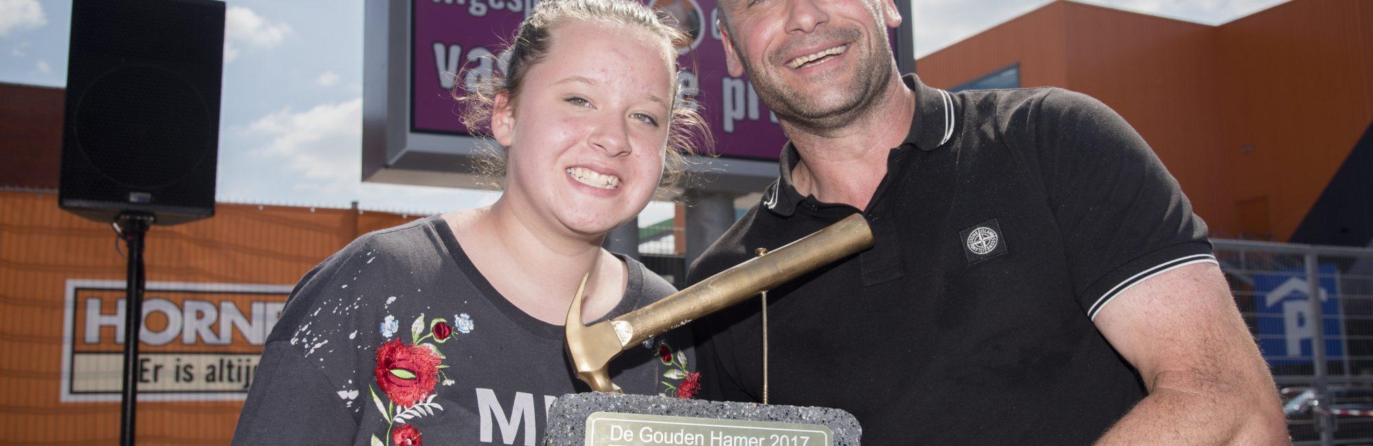 Paul Lucius winnaar gouden hamer hornbach