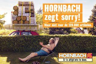 Hornbach zegt sorry