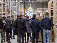 Bouwprofessionals nemen alvast een kijkje bij Hornbach Zwolle