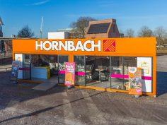 Kleinste Hornbach vestiging groots bezocht