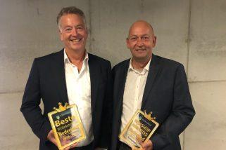 Evert de Goede (Algemeen directeur) en Edward Meijers (Hoofd E-business)