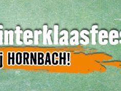 Sint en kluspieten op bezoek bij Hornbach