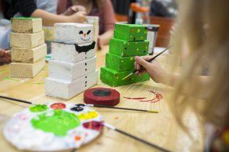 Hornbach kinderwerkplaats kerst