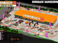 Obstacle run bij Hornbach Duiven