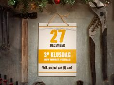 Derde Klusdag is 27 december