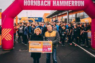Checque stichting goede doelen_ Hornbach Hamerrun
