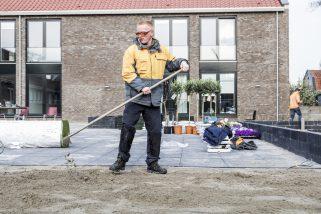 Hornbach Helpt Stichting Zo mooi wonen in Zwijndrecht
