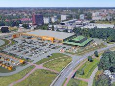 Bouw HORNBACH Enschede gestart