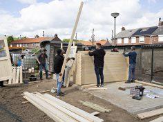 Nieuw paviljoen voor Volkstuinvereniging Ut Mooshöfke van Lindenheuvel