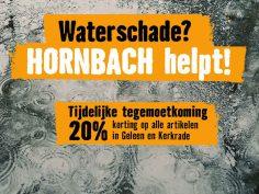 HORNBACH steunt gedupeerde Limburgers